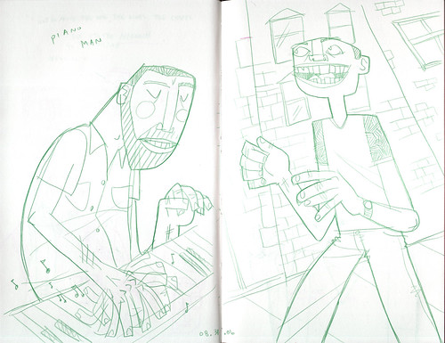 sketchdump: some dudes