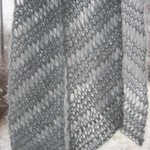 Beaded Bias Scarf Pattern