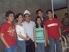 Dr. Dennis Dellosa & family