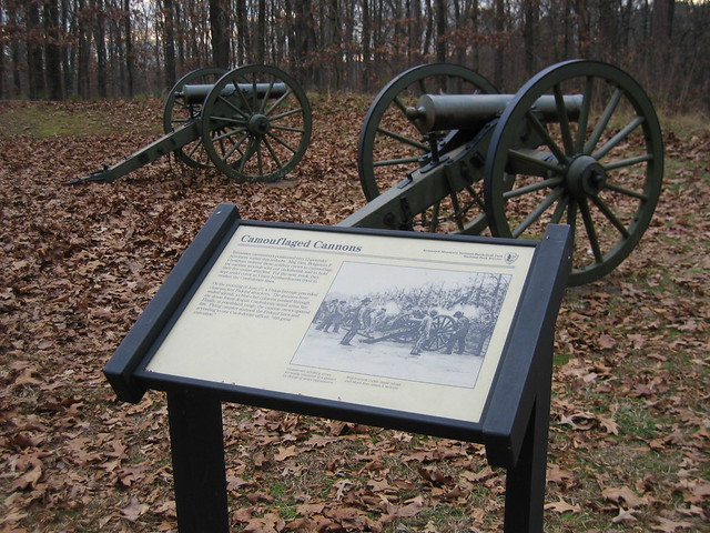 Cannon at Kennesaw Mountain Battlefield