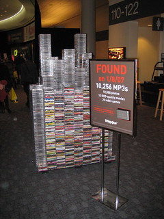 That's a lot of CDs