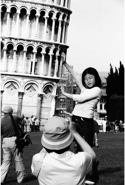 tourists..