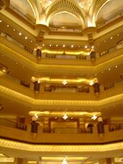 Inside the Emirates Palace Hotel