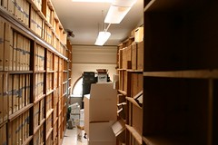 Archive room of the Choir Music Library
