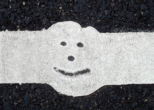 Happy Road Marking