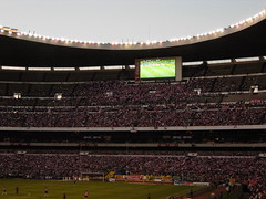 Lights on Azteca Stadium I