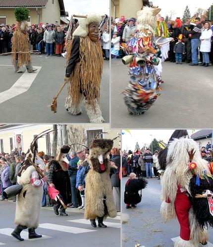 carnival costumes traditional parade masks slovenia pust shrovetide kurent markovci priptuju jpingjk