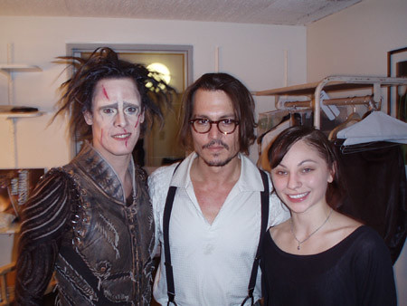 Johnny Depp with &quot...