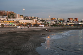 Image of Playa de Fañabe near Playa de las Américas. night tenerife canaryislands hisgett fanabebeach