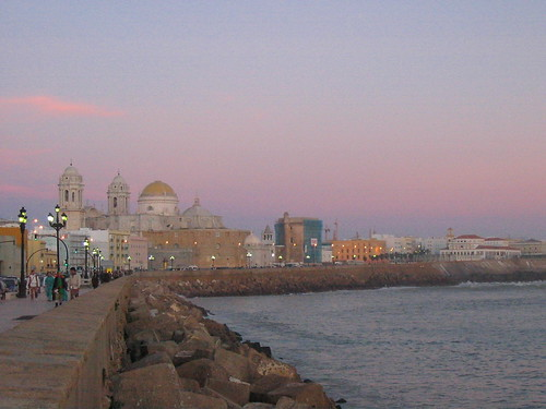 Cádiz al anochecher