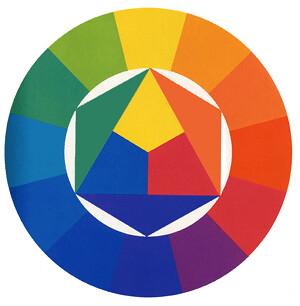 the standard 12 step ryb color wheel flickr photo sharing. Black Bedroom Furniture Sets. Home Design Ideas