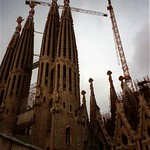 La Sagrada Famíglia Church - Barcelona, Spain