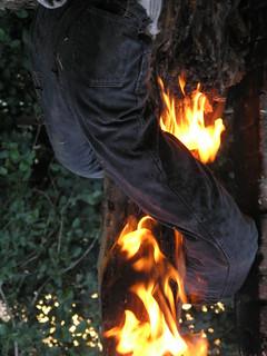 He has my pants on fire... :)