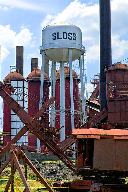 Sloss Furnaces by CC user southernpixel on Flickr