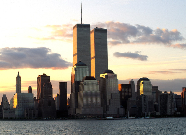 World Trade Center sunrise 1993