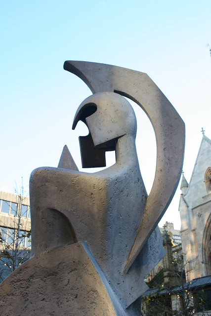 Alan Collins: Symbolic Figure of Minerva