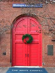 Washington Navy Yard Chapel 3 front door