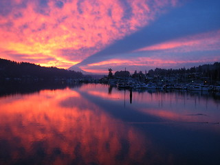 Gig Harbor Sunrise 12-16-06