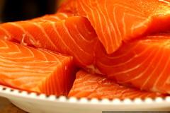 salmon for xmas dinner    MG 8189