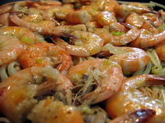 produce(0.0), shrimp(1.0), dendrobranchiata(1.0), caridean shrimp(1.0), spaghetti(1.0), seafood(1.0), invertebrate(1.0), food(1.0), scampi(1.0), dish(1.0), cuisine(1.0),