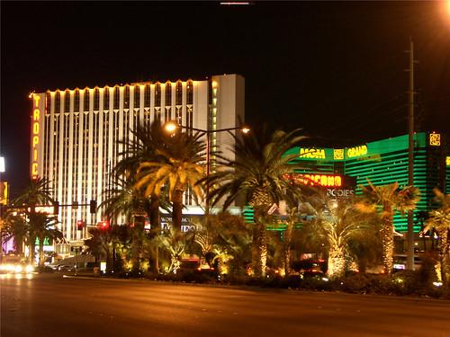 Tropicana Hotel and MGM Grand Hotel Las Vegas