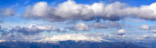 blue sky panorama mountain snow clouds geotagged greece canoneos350d geo:lat=40661889 geo:lon=2193901
