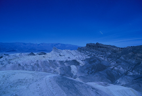 Zabriskie Point at Night