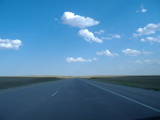 straight ahead: kansas