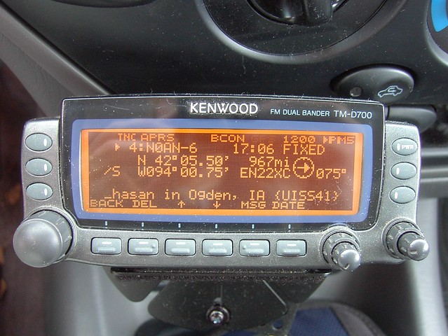 APRS is an Amateur Radio communications mode. Here is some information about ...