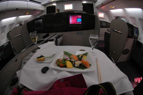 QATAR AIRWAYS A330-200 FirstClass