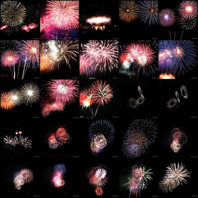Team Philippines Fireworks Mosaic