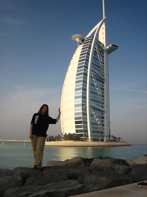 holding the 6 star hotel in dubai flickr photo sharing