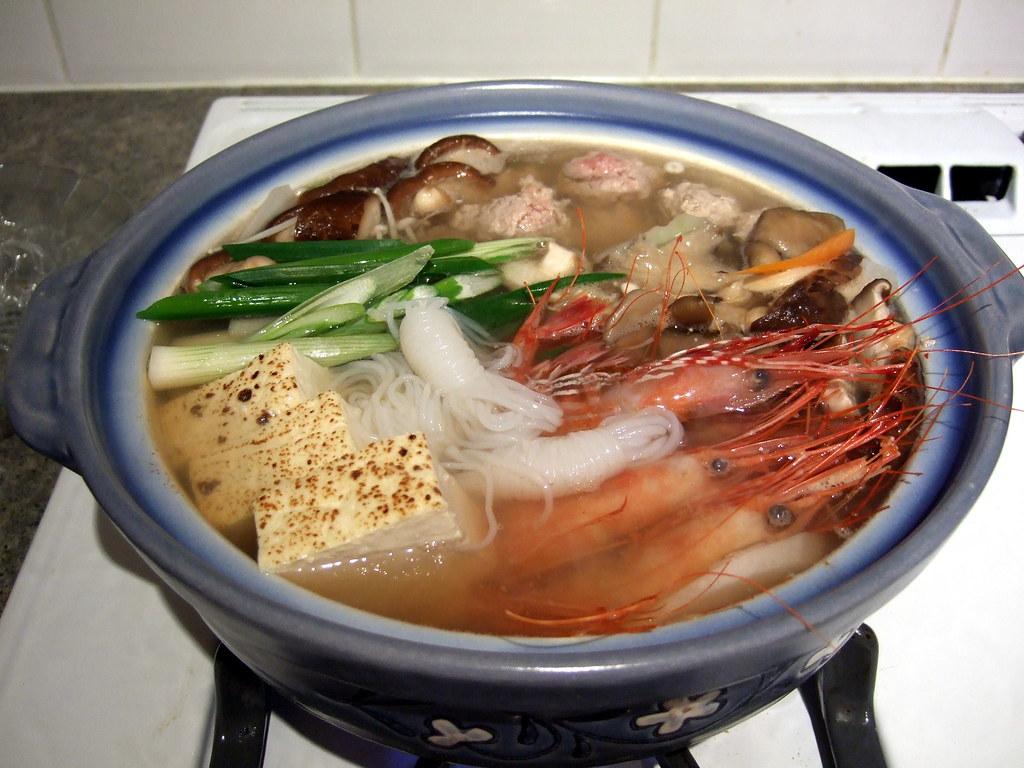 海鮮鍋 Seafood Soup