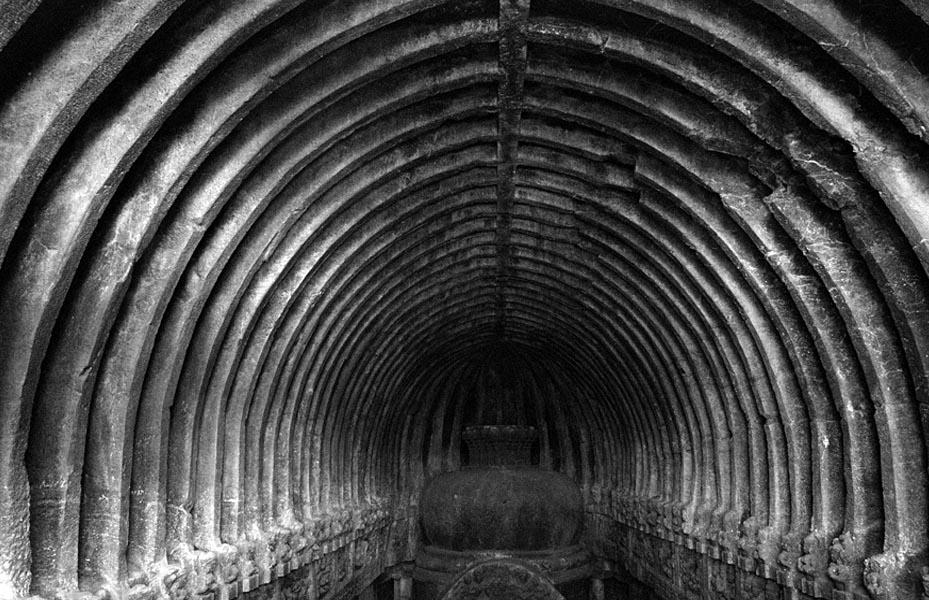 Dome of the temple Ellora