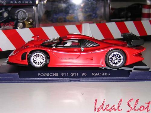porsche 911 gt1 evo 98 racing red ref r 6003 ideal slot. Black Bedroom Furniture Sets. Home Design Ideas