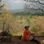 At the Top of Wat Banan - Battambang, Cambodia