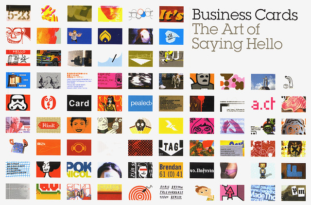 Business Cards: The Art of Saying Hello