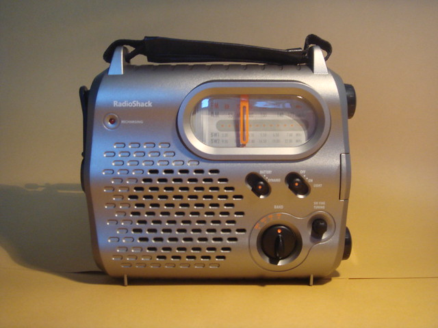 radio shack emergency crank radio