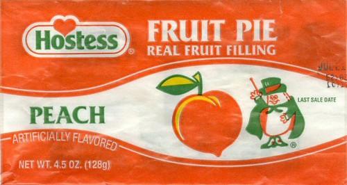 Hostess fruit Peach pies