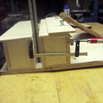 End view of router jig