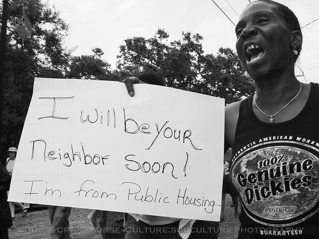 """I Will Be Your Neighbor Soon...  I'm From Public Housing"""