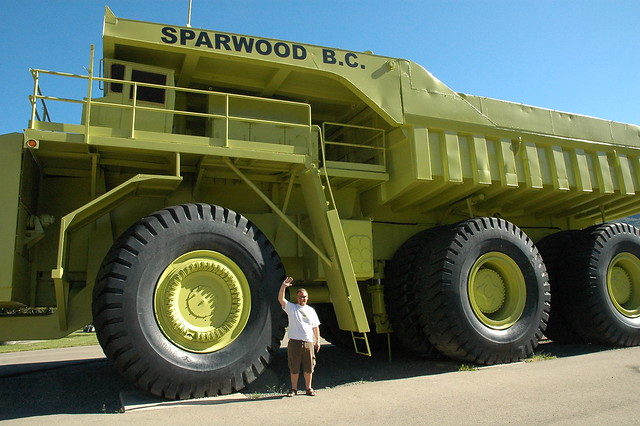 World S Largest Dump Truck Sparwood Bc Explore