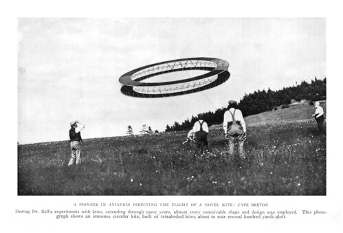Alexander Graham Bell's giant kite