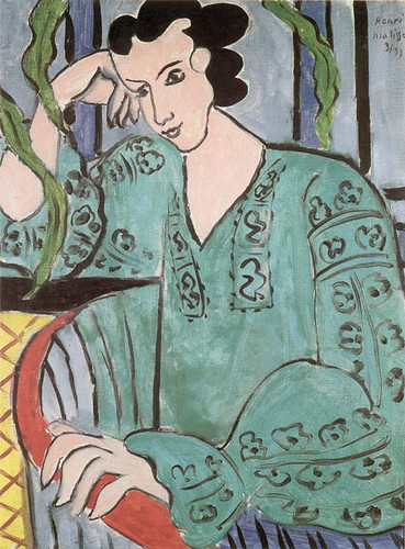 Henri Matisse - Woman with a Green Blouse