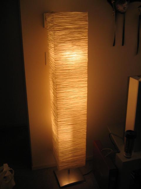 Ikea orgel vreten floor lamp 12 sold flickr photo sharing - Paper floor lamp ikea ...