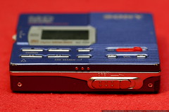 sony mz r90 minidisc recorder    bottom view   eject…