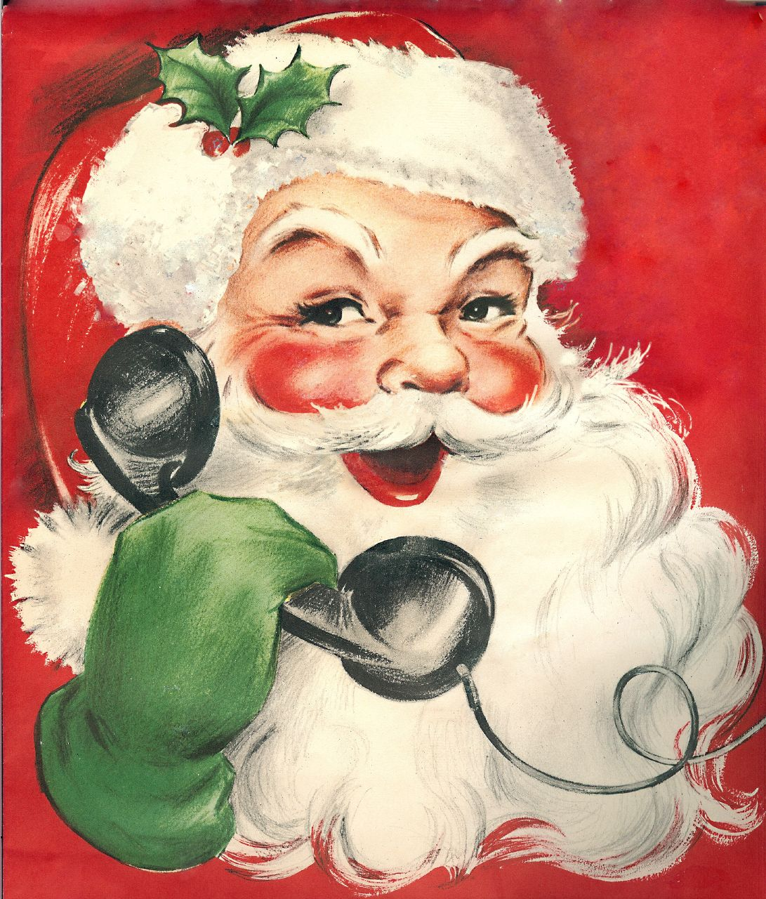 Vintage Santa Images 61