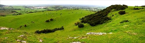 ireland archaeology masonry bronzeage countylimerick prehistory hillfort knockroe