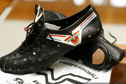 Classic Cycling Shoes http://durak.org/photos/seandreilinger/356331102/vittoria-vintage-leather-cycling-shoes