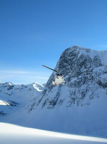 Heli-skiing Canada 2007 032